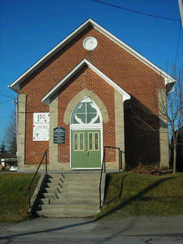 Front Door of Dunsford United Church